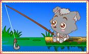 小灰灰钩鱼鱼