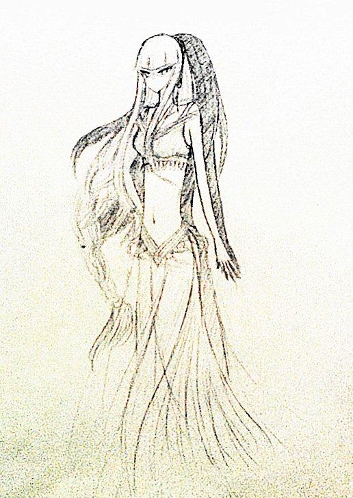 洛克王国阿布手绘-拟人版;
